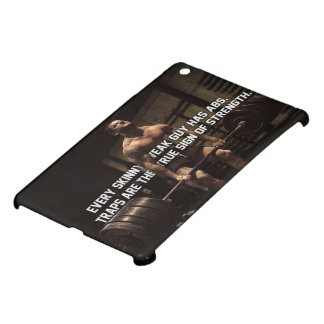 Strength Training Motivation - Traps - Workout iPad Mini Case