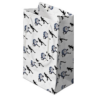 Stress Clock Race Concept Small Gift Bag