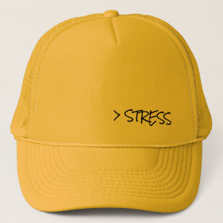 Stress Less Habitat - Trucker Cap [Mustard}