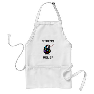 Stress Relief Art Painting Apron
