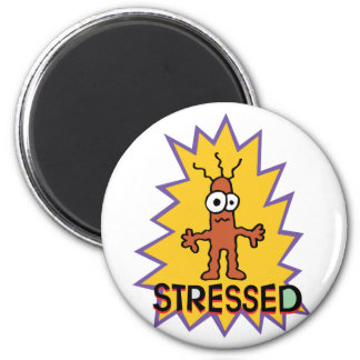 Stressed Magnet