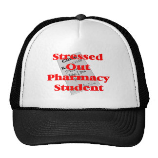 stressed out pharmacy student trucker hat