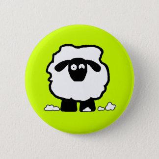 Stressed Sheep 2 Inch Round Button