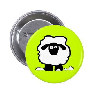 Stressed Sheep 2 Inch Round Button