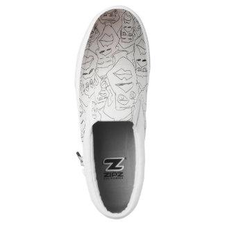 stressed stepper Slip-On sneakers
