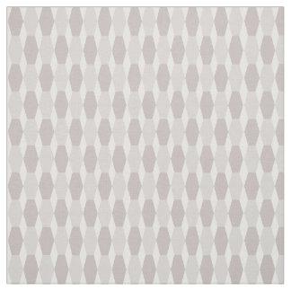Stretch Hexi Neutral Fabric