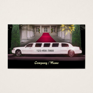 Stretch Limo Business Card