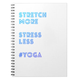 Stretch More Stress Less | Simple Yoga Journal