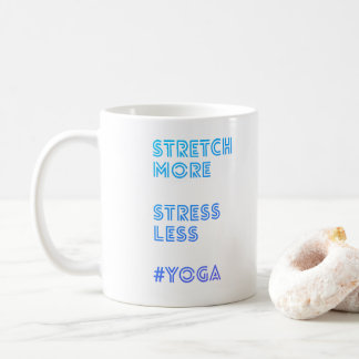 Stretch More Stress Less | Simple Yoga Mug