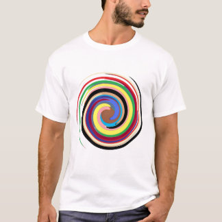 Stretched circles extreme T-Shirt