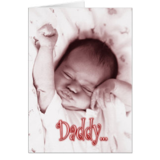 Stretching Baby Girl Father s Day from Daughter Cards