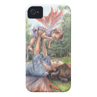 """""""Stretching Her Wings"""" Barely There iPhone 4 Case"""