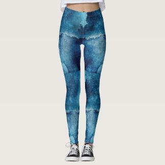 Stretchy Skinny Printed Sports Stirrup Leggings