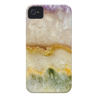 Striated Amethyst in Purple Gold & Green Case-Mate iPhone 4 Cases