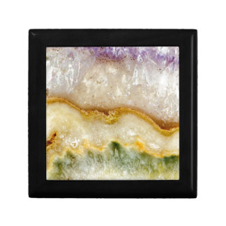 Striated Amethyst in Purple Gold & Green Gift Box