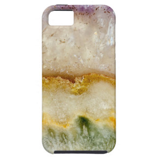 Striated Amethyst in Purple Gold & Green iPhone 5 Covers