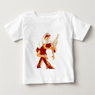 Strictly Salsa Brown Shades Baby T-Shirt