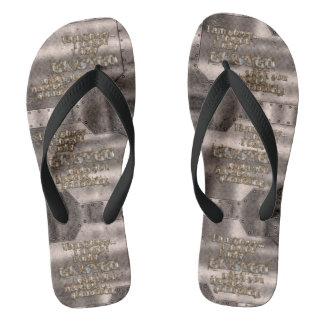 STRICTLY TYPOGRAPHY 1 FLIP FLOPS
