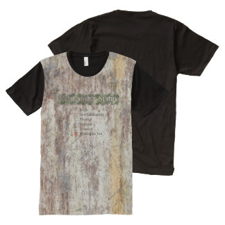STRICTLY TYPOGRAPHY 4 All-Over-Print T-Shirt