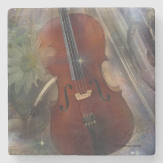 Strike a Chord with this Beautiful Musical Design Stone Coaster