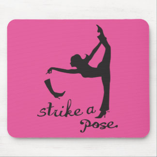 Strike a Pose ~ Dancer & Yoga Inspired Creative Mouse Pad