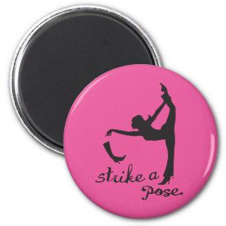 Strike a Pose ~ Yoga & Dancer Inspired Creative Magnet