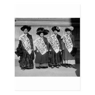 Strike of the Ladies Tailors, 1910 Postcard