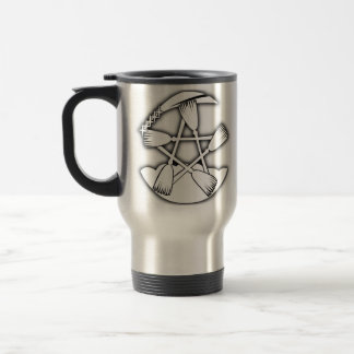 Strike Witches logo flask Travel Mug