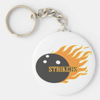 Strikers Orange Keychain