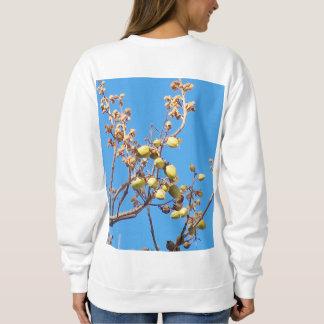 Striking autumn sweatshirt