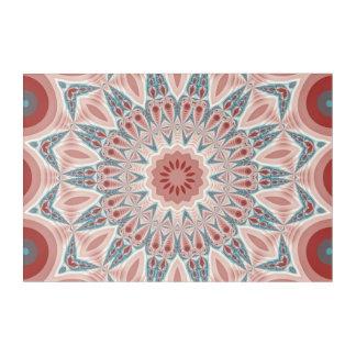 Striking Modern Kaleidoscope Mandala Fractal Art