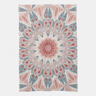 Striking Modern Kaleidoscope Mandala Fractal Art Towels