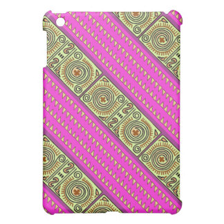 Striking Rose and Plum Quenacho iPad Mini Case