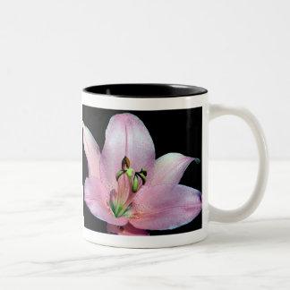 Striking Tiger Lily Two-Tone Coffee Mug