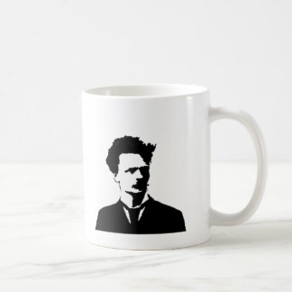 Strindberg in Silhouette Coffee Mug