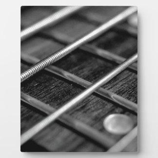 String Bass Guitar Music Rock Sound Instrument Plaque