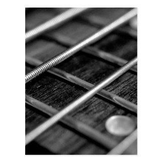 String Bass Guitar Music Rock Sound Instrument Postcard