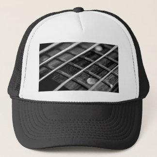 String Bass Guitar Music Rock Sound Instrument Trucker Hat