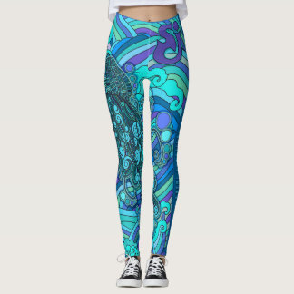 String Cheese Incident Jellyfish Jelly Fish SCI Leggings