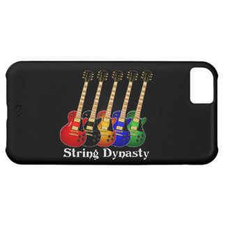 String Dynasty Electric Guitar Case For iPhone 5C