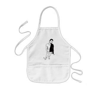 string grease kids' apron