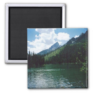 String Lake- Grand Teton Square Magnet