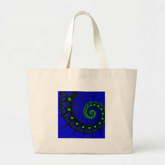 String of Infinity Large Tote Bag
