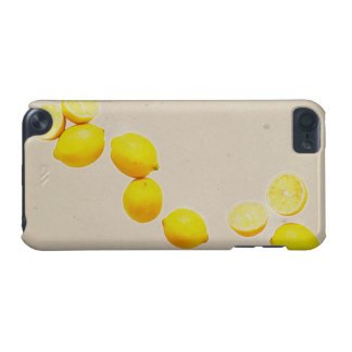 String of Lemons On Vintage Background iPod Touch 5G Covers