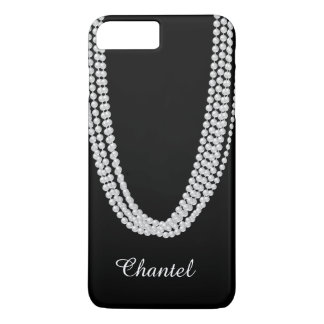 String of Pearls iPhone 7 Plus Case in white