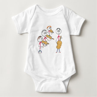 String Quartet 2 Baby Bodysuit