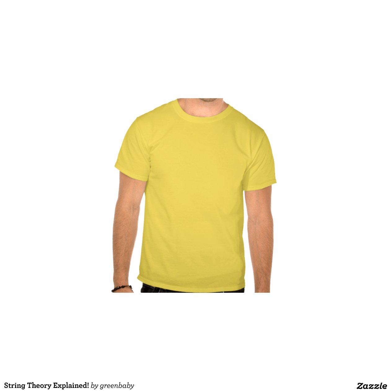 String Theory Explained Zazzle