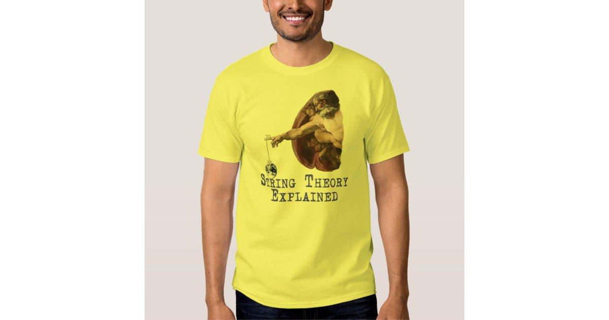 String Theory Explained Shirt Zazzle