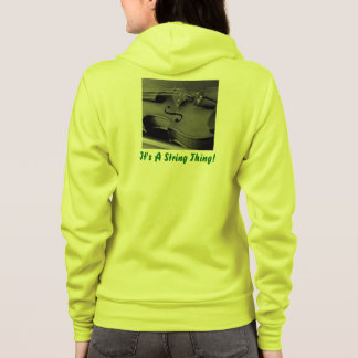 String Thing Hoodie ***EDIT NAME ON FRONT***