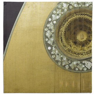 stringed instrument II Printed Napkins